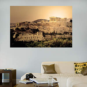 Parthenon Mural Fathead Wall Decal